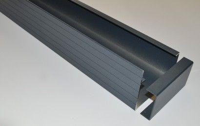 Aluminium goot